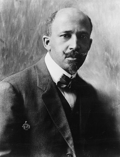 W.E.B. DuBois, by Cornelius Marion (C.M.) Battey (1873–1927), uploaded on 2010